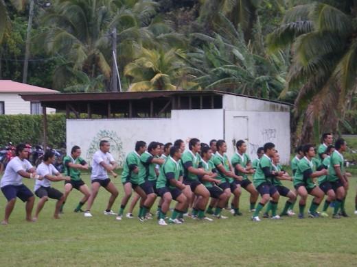 Haka 'Strategy' Cook Islands 2009