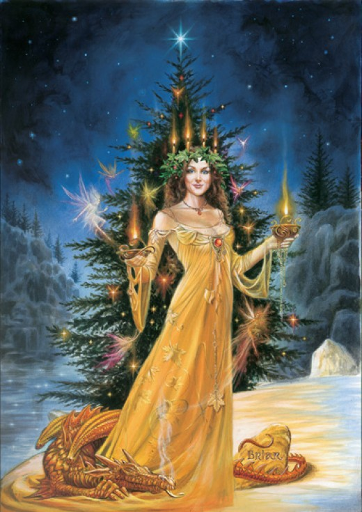 The Yule Goddess