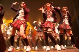 AKB48, performing in Paris in 2009