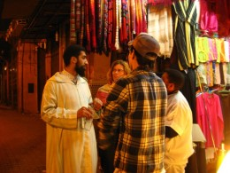 Haggling in the Souk, Morocco