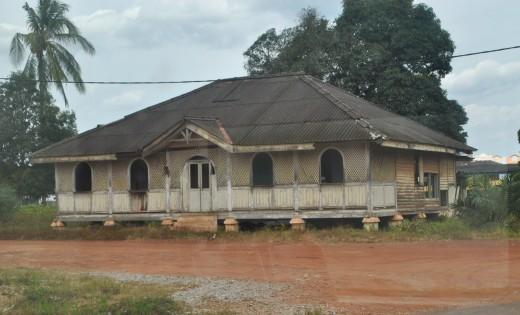 Enchanting old Malay house