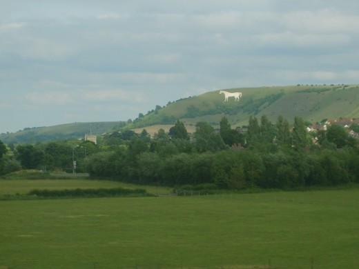 this is the oldest giant hill figure in England