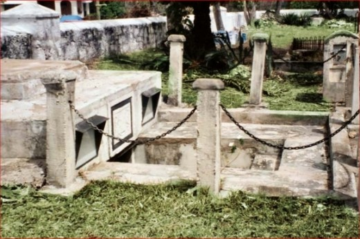 The Chase Vault Barbados - Scene of possible paranormal events
