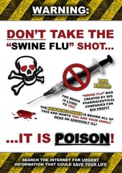 Swine Flu Vaccine - Say No!