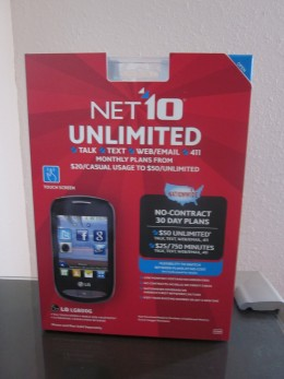 NET10 - No Contract Phone.  Available for purchase online or at Best Buy retailers.