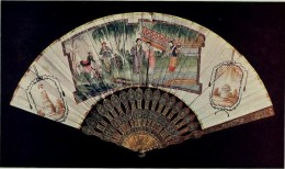 A beautiful Fan, picture taken from book History of fans, by Woolliscroft Rhead