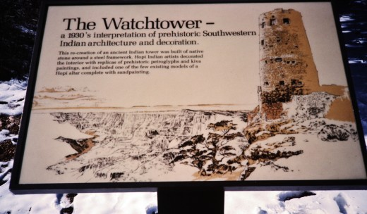 Watchtower sign