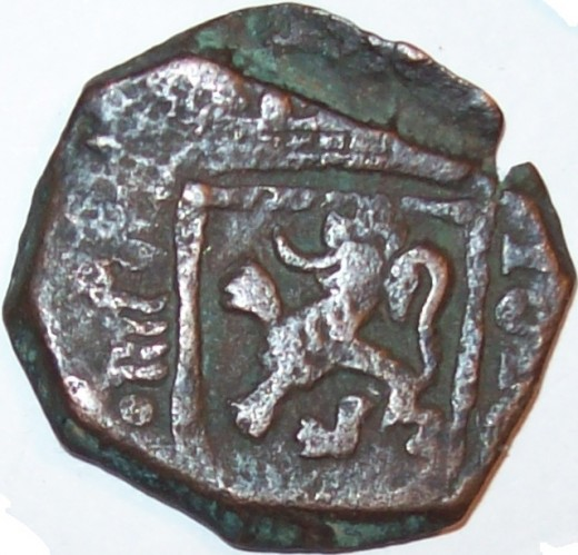 Spanish Colonial Era Maravedis Coin