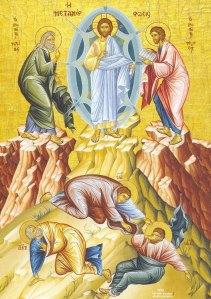 Transfiguration of Christ Icon