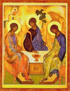 Holy Trinity Icon by Rublev