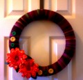 How To Make A Yarn Wrapped Wreath
