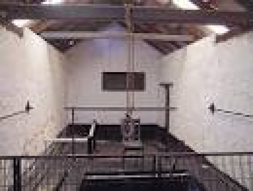 The gallows at Fremantle prison where Eric Edgar Cook was the last man hanged