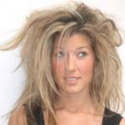 Hate the frizzy hair. There are things you can do to fix your frizzy hair.