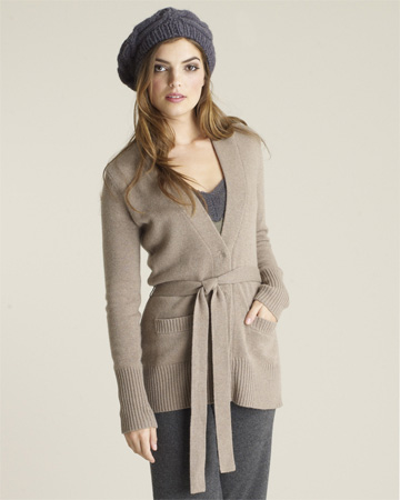 Classic Belted Cardigan for this Winter