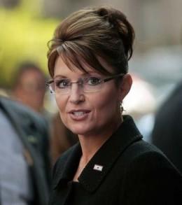 Sarah Palin upsweep