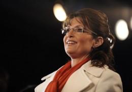 Sarah Palin Half Ponytail