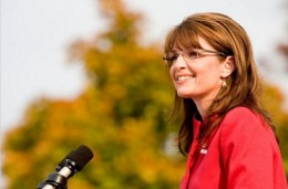 Sarah Palin with her hair down
