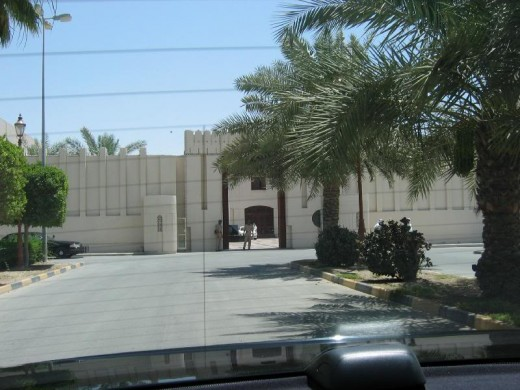 Riffa Palace - the official residence of the King of Bahrain, source http://travel.webshots.com