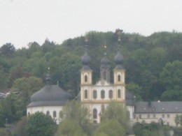 Wurzburg Kappele (chapel) on the hillside overlooking the city.