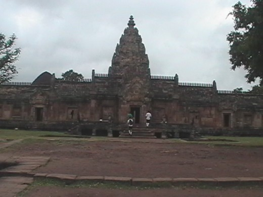 Front of Prasat Phanom Rung Temple