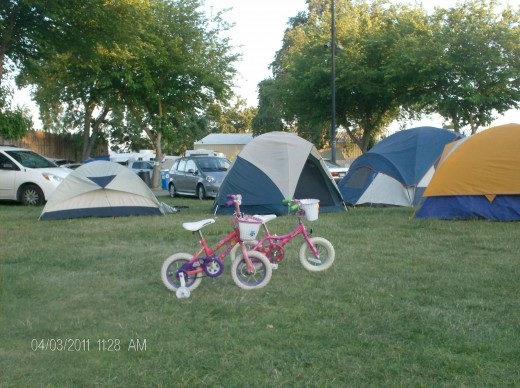 There are activities for every age group at  the Great Western Bike Rally.