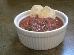 Chips and salsa is one of my favorite snacks