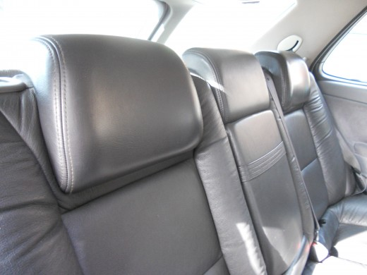High quality all leather interior that lasts almost forever and most look like new.
