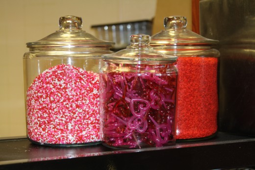 Sprinkles and Cupcake Decorations