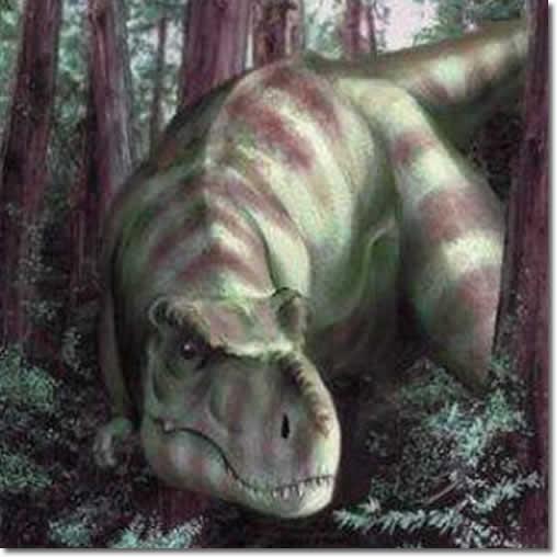 T-Rex Sniffing