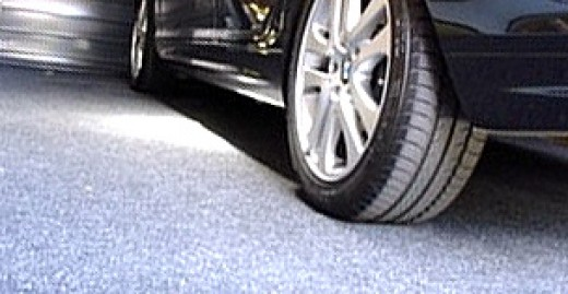 Garage carpeting holds up under heavy use and looks great!