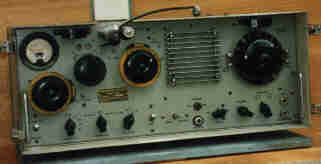 Low wattage two-way (transceiver) often used when coming into or leaving harbour.