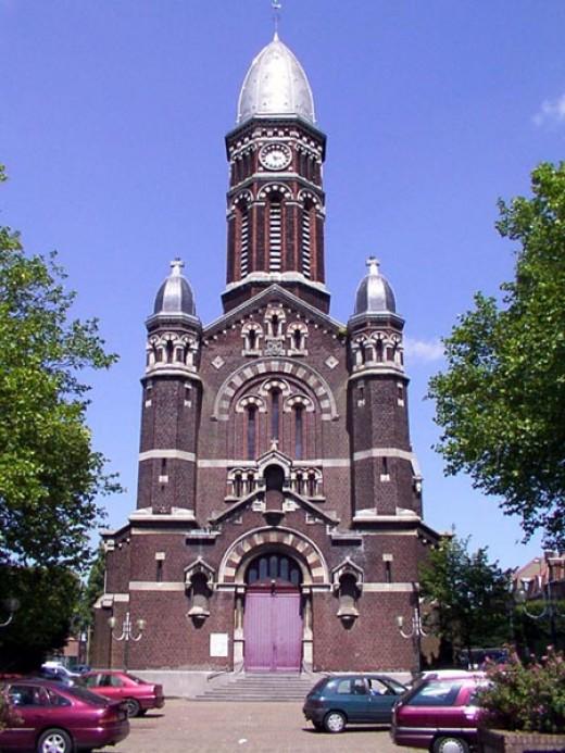 Church of Sainte-Anne du Brun-Pain, Tourcoing, France