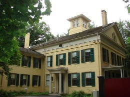 Emily Dickinson's Homestead, Amherst, Massachusetts