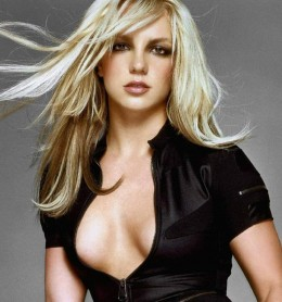 Britney Spears posing in a photo shoot from a few years back.