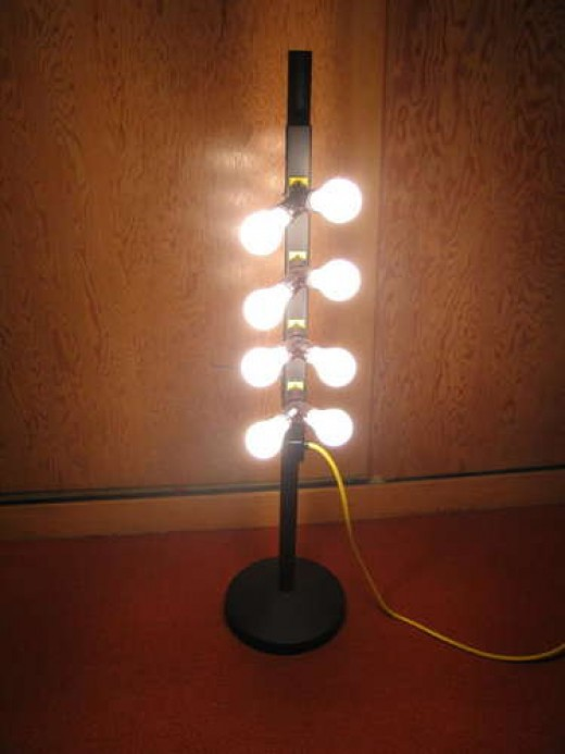 "Another ""S.A.D."" lamp for therapy."