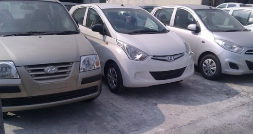 Hyundai Santro with Eon with i10 cars