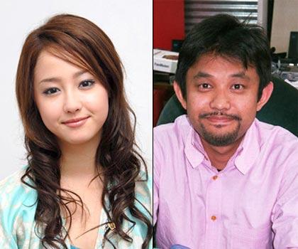 Sawajiri Erika and her ex-husband