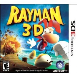 Rayman 3D Nintendo 3DS Game