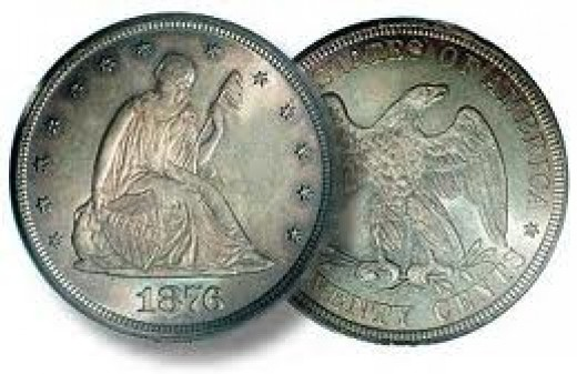 This is the basic design of the twenty-cent coin.