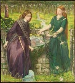 Dante's Vision of Rachel and Leah by Rosetti