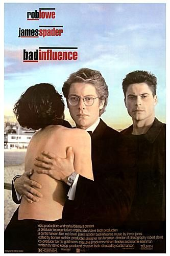 Bad Influence Movie Poster