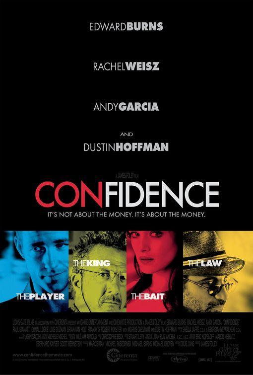 Confidence Movie Poster
