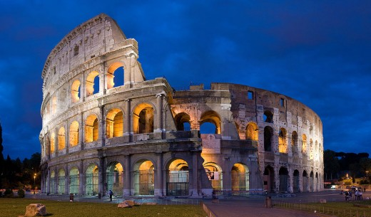 Incredible picture of the Coliseum in Rome