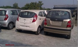 mage-(L to R) Hyundai i10, Hyundai Eon and Hyundai Santro Rear View