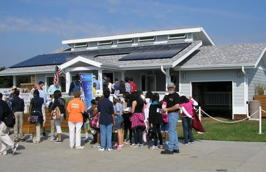 Solar Decathlon 2011 | The INhome (Indiana Home) by Purdue University - designed as a typical Midwestern Home but with energy efficient technology throughout | image credit: John Dove