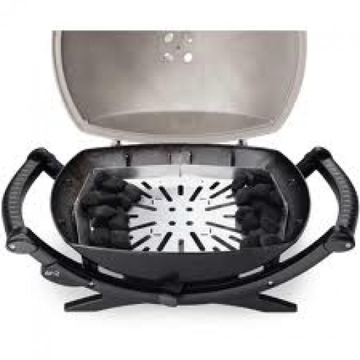Weber Char Q portable charcoal grill