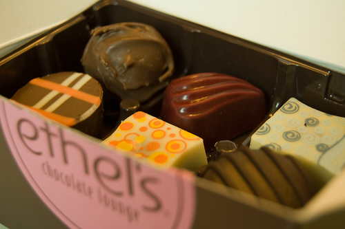 Chocolate can be used in love magic or to sweeten another person's heart.