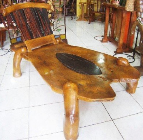 Made from two of the finest timbers in Asia. No nails and screws were used during assembly