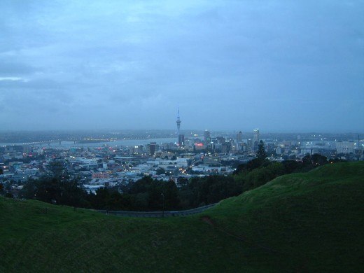 Auckland at dawn