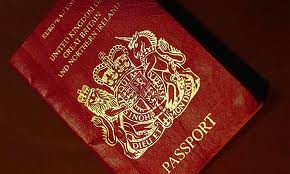 Lost or stolen British passport